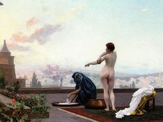 Not PC: Bethsabee (Bathsheba), by Jean-Léon Gérôme,