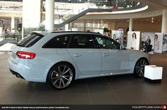 Audi Exclusive RS 4 Avant painted in Sport Classic Grey