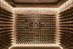 Contemporary Wine Cellar Design, Pictures, Remodel, Decor and Ideas - page 2 Wine Shelves, Wine Storage, Contemporary Wine Racks, Caves, Wine Cellar Basement, Home Wine Cellars, Wine Cellar Design, Wine Design, Wine Display