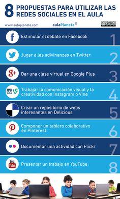 8 propuestas para utilizar las redes sociales en aula