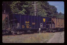 Delaware & Hudson D&H 100 Ton Ore Car #253 The Glen NY 1975 Original GAF Slide