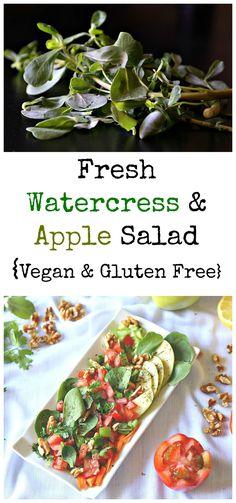 Fresh Watercress & Apple Salad - :: Nutrizonia ::