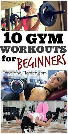 Fight holiday weight gain and get an early jump on New Year's resolutions with 10 of the best Gym Workouts for Beginners! Fight holiday weight gain and get an early jump on New Year's resolutions with 10 of the best Gym Workouts for Beginners! Fitness Humor, Fitness Workouts, Fitness Motivation, Weight Training Workouts, Workout Exercises, Health Fitness, Ab Workouts, Lifting Motivation, Planet Fitness Workout Plan