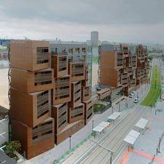 Basket Apartments in Paris  by OFIS arhitekti