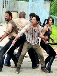 The Walking Dead. Omigod this pic is so freaking epic