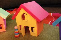 Paper houses (printable)