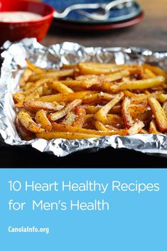 We are celebrating men's health with a round up of heart-healthy recipes for the men in your life. #CookwithCanolaOil  #menshealth #recipes #healthy #dudefood