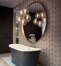 You can read this article to know some of the best bathroom lighting ideas and other tips that you have to know to make a good lighting scheme for your bathroom. lighting 10 Bathroom Lighting Ideas - Unique Lights for Bathroom Best Bathroom Lighting, Bathroom Light Fixtures, Bathroom Pendant Lighting, Hanging Lights In Bathroom, Bathroom Lighting Inspiration, Small Bathroom Inspiration, Family Bathroom, Master Bathroom, Couples Bathroom