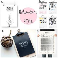 Nuapurissa: Seinäkalenterit vuodelle 2016