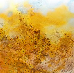 In the amber blast...100x100cm acrylic canvas