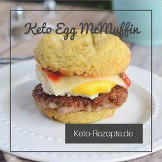 Fans und Verachter von McDonalds können die Anziehungskraft eines Breakfast-Muffins nicht verleugnen. Wir präsentieren: Unsere Lowcarb Keto Egg McMuffins!