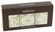 burp cloth packaging