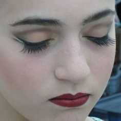 i am pinning this because seriously two minutes before i found it, i was wishing for a blog of some kind dedicated to dance makeup, and this is it! yesyesyes