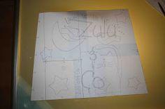 Empezamos!   On y va! :)     He dividido el patrón de cada mandil en 4 páginas, más otra que contiene la plantilla de los alfileteros. E...