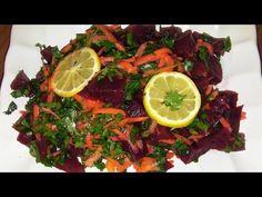 Pancar Salatası nasıl yapılır, Renkli Lezzetli Tarif - YouTube Seaweed Salad, Beef, Ethnic Recipes, Youtube, Food, Food And Drinks, Meat, Meals, Ox