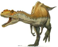 Yangchuanosaurus by pheaston.deviantart.com on @DeviantArt - is an extinct genus of metriacanthosaurid theropod dinosaur that lived in China during the late Oxfordian (and possibly Kimmeridgian) stage of the Late Jurassic