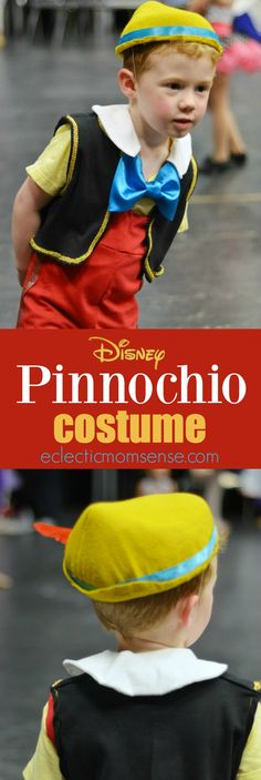 Disney Pinocchio Costume | PLUS group costume ideas for Geppetto, Blue Fairy, and Jiminy Cricket