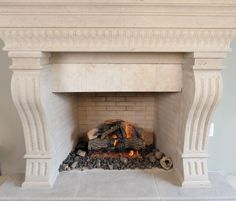 The details make the difference, decorate your home with an Isokern Fireplace. No matter if you want to burn wood or gas, indoors or outdoors, a masonry fireplace would be a great addition to any home. Find the fireplace that fits your style over at earthcore.com... Fireplace Mantels, Decorating Your Home, North America, Indoor Fireplaces, Industrial, Wood, Outdoors, Design, Home Decor