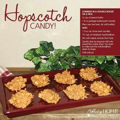 Hopscotch candy