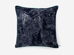 JUNGLE / Cushion 50x50 cm - Tiphaine de Bodman