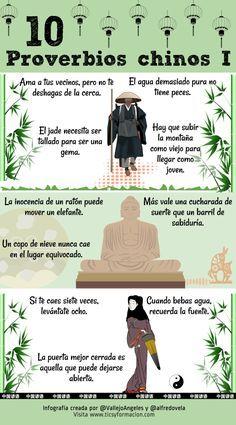 10 proverbios chinos (I) #infografia #infographic #citas #quotes