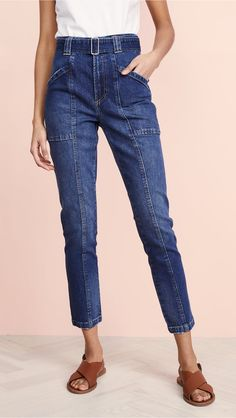 online shopping for La Vie Rebecca Taylor Tie Waist Jeans from top store. See new offer for La Vie Rebecca Taylor Tie Waist Jeans Denim Fashion, Fashion Outfits, Womens Fashion, Designer Jeans For Women, Mode Jeans, Women's Jeans, Jeans Boyfriend, Weekend Wear, China Fashion