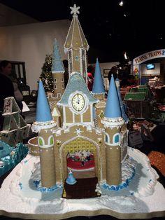 gingerbread house castle