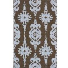 cool Momeni Lil Mo Classic Collection Rug - Baby Blue (3'W x 5'L)