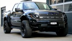 Ford Raptor Breitversion mit 20″ HRE-Felgen | cartech.ch / Autotechnik Chur