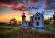 Admiralty Head Lighthouse ~ Fort Casey, WA