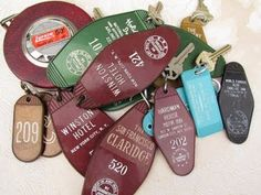 Hotel keys ... a thing of the past.