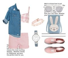"""""""Weekend!"""" by hattie4palmerstone ❤ liked on Polyvore featuring River Island, Current/Elliott, Sans Souci, Anne Klein, Christian Dior, Vans and Valentino"""