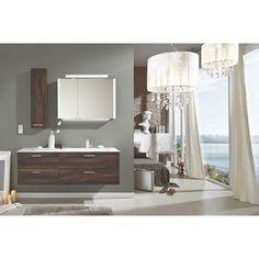 Stilvolles Badezimmer in dunklen Ulmefarben von NOVEL