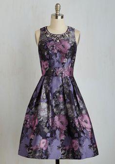 Holiday Party Style - Fleur Majesty Dress