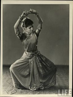 life magazine photo of Indian dancer