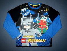 Lego Batman Shirt Gr. 122-128 6,00 Batman Shirt, Lego Batman, Jackets, Shirts, Fashion, Guys, Summer Recipes, Clothing Apparel, Down Jackets