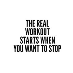 So true. Working out is a mental game. You got this ladies!! www.kaylaitsines.com/app