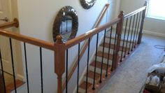 Another gem in the range of DIY luxe upgrades is the Iron  Baluster Staircase Rail. Builders offer this feature as a premium, but  why pay ...