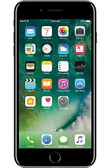 Apple® iPhone® 7 Plus 256GB in Jet Black, Jet Black