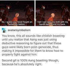 Atla, avatar: the last Airbender, aang