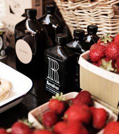 strawberry and vinegar.
