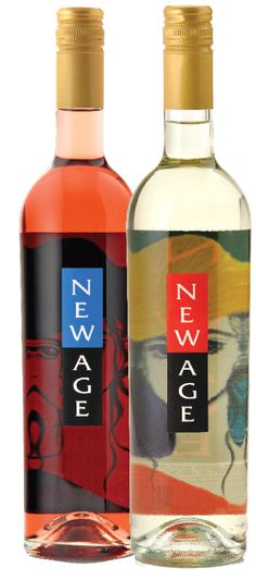 I recommend New Age wine to everyone I know. The pink is good, too, but the white is the best. It has bubbles in it and is very refreshing. In Argentina, they actually serve it over ice with a lime. ;)