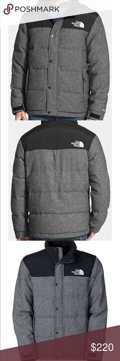 The north face nuptse black and gray Puffer coat Product description in photos. NWT The North Face Jackets & Coats Puffers