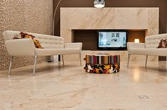 Our Romagna Tiles will bring a clean and classical feel to any room - http://www.wallsandfloors.co.uk/range/sale/romagna-marble-effect-tiles/