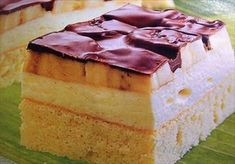 Zobrazit detail - Recept - Banánové řezy Vanilla Cake, Food, Essen, Meals, Yemek, Eten