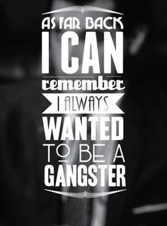 Gangster truth