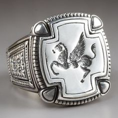 Neat ring by Konstantino.