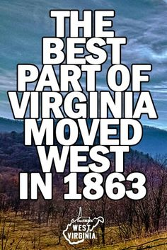People still do not realize West Virginia is a state and not the western part of Virginia...lol.