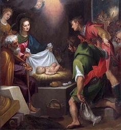 Pintura religiosa del Barroco al estilo florentino por El Cigoli.