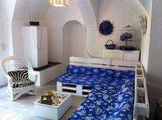 Tis Do it Yourself - interiorismo low cost: El rincón azul, segunda parte.  Ayer…